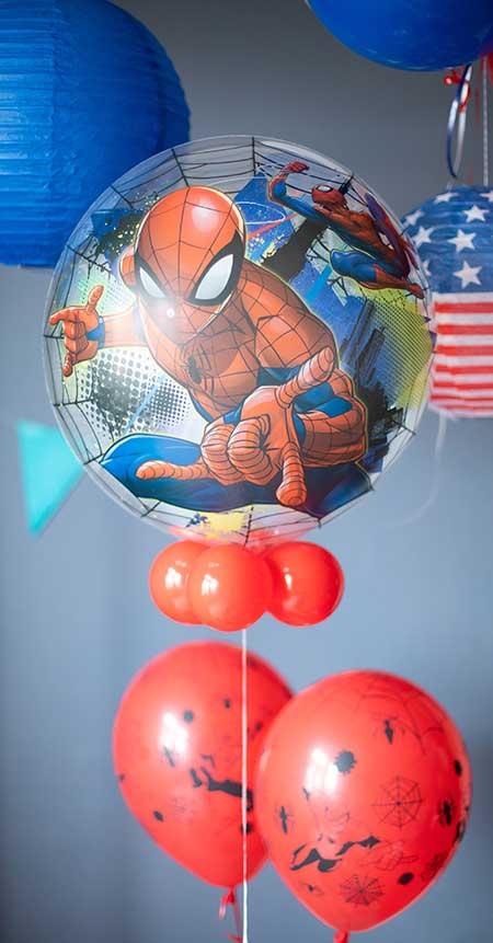 Ballons hélium SpiderMan